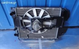 Renault clio 1400cc ψυγειο νερου και βεντιλατερ μαζι Χρονολογια 1994/1998